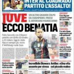 عناوین روزنامه کوریره دلو اسپورت ایتالیا 24 تیر 95