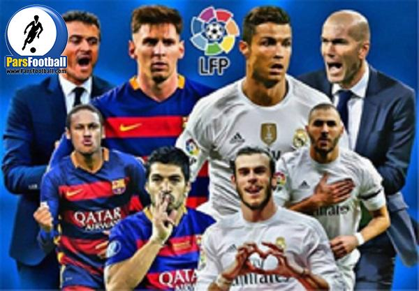 ال کلاسیکو لالیگا - رئال مادرید و بارسلونا