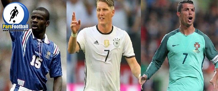 11بازیکنی که بیشترین بازی را در یورو کرده اند