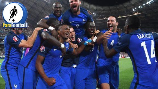 بازیکنان تیم ملی فرانسه