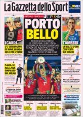 عناوین روزنامه گازتا دلو اسپورت ایتالیا 21 تیر 95