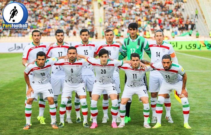 البسه تیم های ملی - لیست ملی پوشان - تیم ملی فوتبال - فدراسیون فوتبال