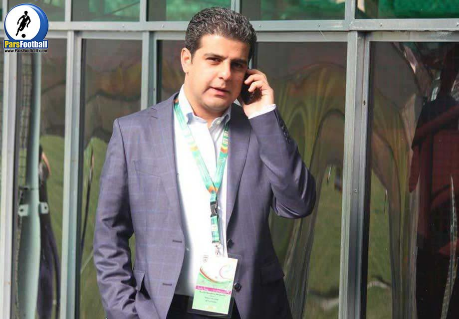 پندار خمارلو : سفارت به ایرانیان SMS داد | خبرگزاری فوتبال ایران
