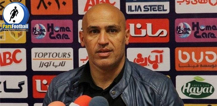 علیرضا منصوریان : اگر بازیکنان شرایط استقلال را درک نمی کند ما مقصر هستیم