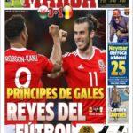 عناوین روزنامه مارکا اسپانیا 12 تیر 95