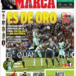عناوین روزنامه مارکا اسپانیا 17 تیر 95