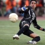 میلاد فرهانی دروازه بان تیم فوتبال نفت تهران