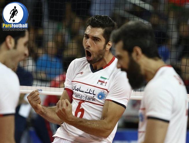 محمد موسوی - تیم والیبال ایران