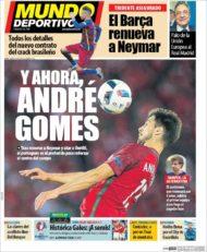 عناوین روزنامه ال موندو دپورتیوو اسپانیا 12 تیر 95