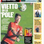 عناوین روزنامه ال موندو دپورتیوو اسپانیا 16 تیر 95