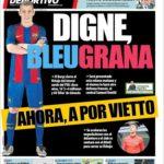 عناوین روزنامه ال موندو دپورتیوو اسپانیا 24 تیر 95