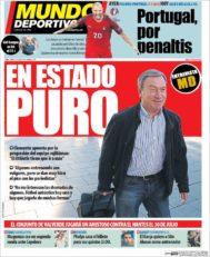 عناوین روزنامه ال موندو دپورتیوو اسپانیا 11 تیر 95