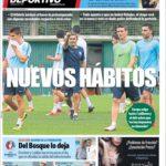 عناوین روزنامه ال موندو دپورتیوو اسپانیا 15 تیر 95