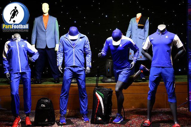 لباس های رسمی کاروان ایران در المپیک