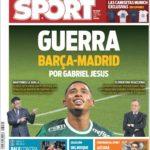 عناوین روزنامه اسپورت اسپانیا 12 تیر 95