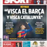 عناوین روزنامه اسپورت اسپانیا 11 تیر 95