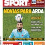 عناوین روزنامه اسپورت اسپانیا 19 تیر 95
