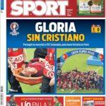 عناوین روزنامه اسپورت اسپانیا 21 تیر 95