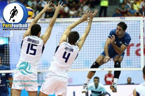 لیگ جهانی والیبال تیم های ملی ایتالیا و آرژانتین