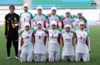 دختران فوتبال ایران