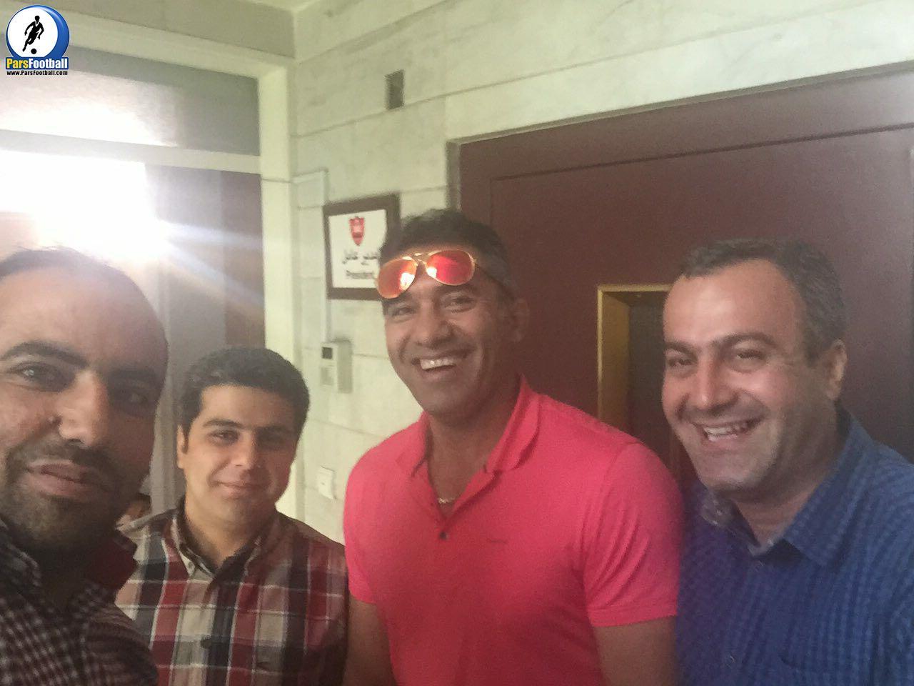 احمدرضا عابدزاده در باشگاه پرسپولیس