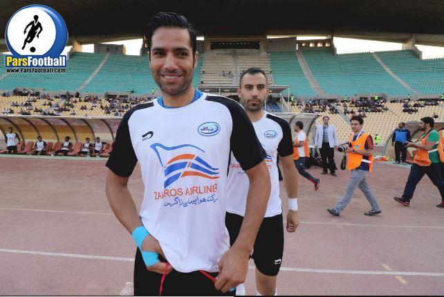 امیرحسین صادقی : به حال مشهد غبطه می خورم | خبرگزاری فوتبال ایران
