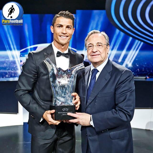 کریستیانو رونالدو بهترین بازیکن سال
