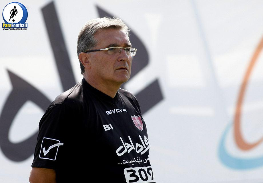برانکو ایوانکوویچ سرمربی تیم پرسپولیس