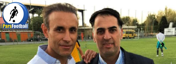 آذری مدیرعامل و یحیی گل محمدی سرمربی ذوب آهن