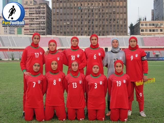 فوتبال نوجوانان بانوان ایران
