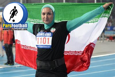 المپیک - لیلا رجبی
