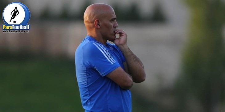 علیرضا منصوریان : بازیکنان استقلال از فوتبال لذت نمی برند