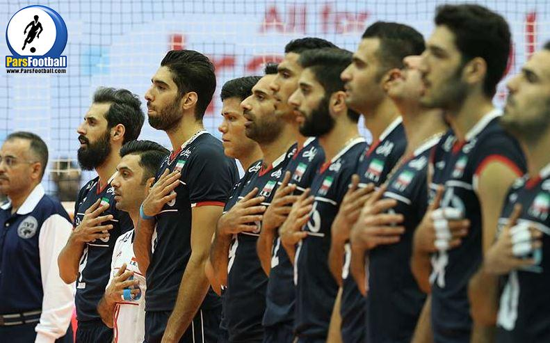 المپیک - ملی پوش والیبال ایران