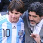 مارادونا و مسی