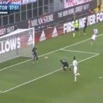 پیروزی پرگل رم - تیم فوتبال میلان