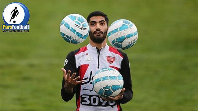 محمد انصاری - پرسپولیس