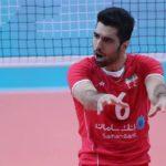 والیبال ایران - محمد موسوی