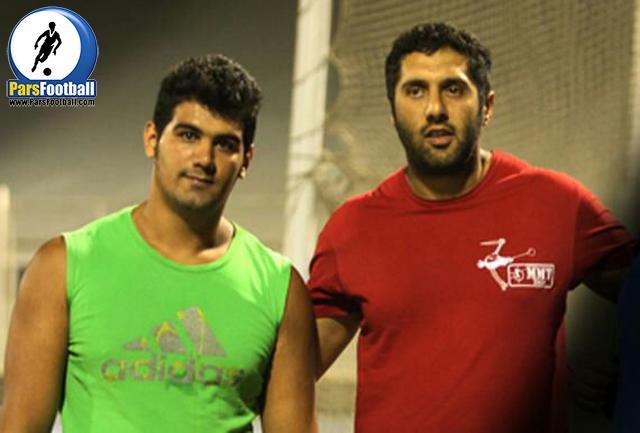 کاوه موسوی و پژمان قلعه نویی دو نماینده پرتاب چکش