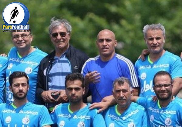 صالح مصطفوی مربی تیم استقلال