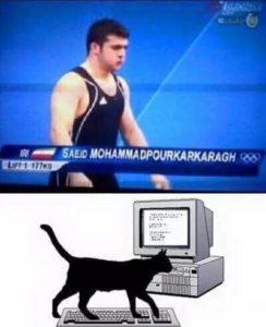 نام ورزشکار ایرانی،سوژه سایت های طنز