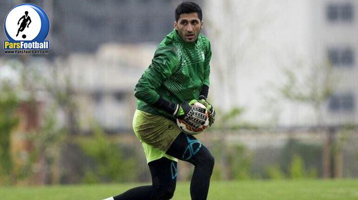 رشید مظاهری دروازهبان ملیپوش فوتبال ایران