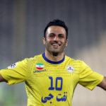 غلامرضا رضایی بازیکن اسبق باشگاه نفت تهران