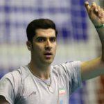 شهرام محمودی تیم ملی والیبال