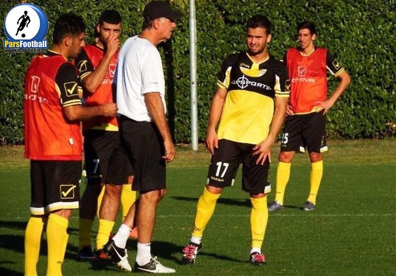 تمرینات تیم ملی فوتبال