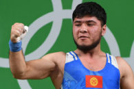 وزنه بردار قرقیزستانی