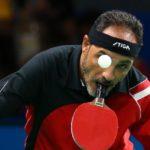در تصویر زیر ابراهیم حمدتو پینگپنگباز مصری را مشاهده میکنید که با وجود نداشتن دو دست در مسابقات پارالمپیک ریو 2016 شرکت کرده است. وی که از 10 سالگی از ناحیه دو دست معلول شده است، با نگه داشتن راکت در دهانش پینگپنگ بازی میکند.