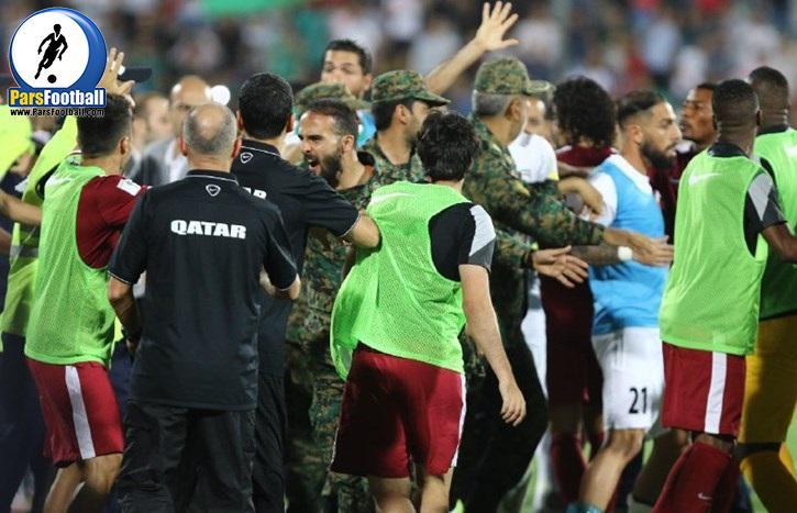 دیدار ایران و قطر