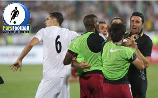 هواداران تیم ملی فوتبال قطر