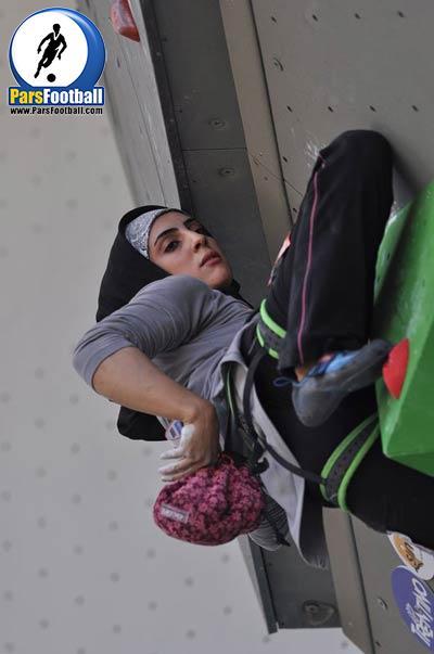 فیلم | اخبار کوتاه | قهزمانی بانوی سنگ نورد ایرانی در مسابقات جهانی اشتوتگارت