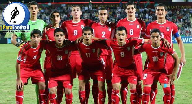 فیلم ؛ شادی بازیکنان تیم ملی فوتبال نوجوانان در رختکن پس از راهیابی به نیمه نهایی آسیا